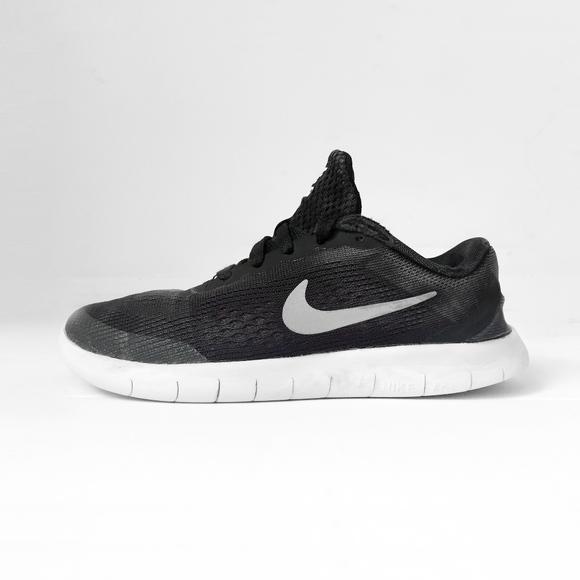 quality design 1de2a 927d9 NIKE FREE RN black shoes sneakers preschool 13C. M 5ab5d4fb739d480f9e99b322